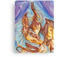 Smaug's Revenge Canvas Print
