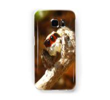 Red Masked Jumping Spider Samsung Galaxy Case/Skin
