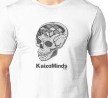 Kaizo Minds - Rubix Skull Design Unisex T-Shirt