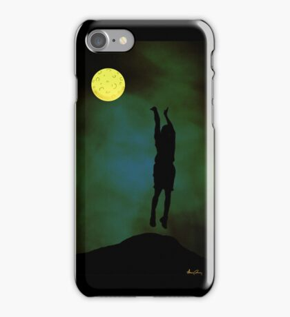 nighttime gametime iphone case iPhone Case/Skin
