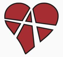 Anarchy Heart One Piece - Long Sleeve
