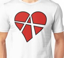 Anarchy Heart Unisex T-Shirt