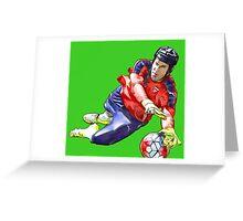 Petr Cech - Arsenal Goalkeeper Greeting Card