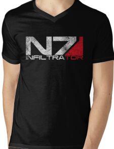 N7 Infiltrator Mens V-Neck T-Shirt