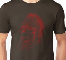 The Master Chief - Red Unisex T-Shirt