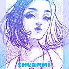 Black + White~ Under Purple by Shurmmi