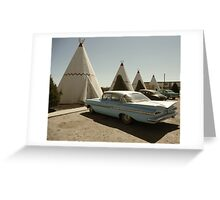 Wigwam Motel Greeting Card