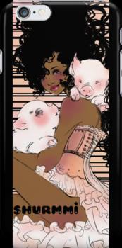 J.J's little piggies by Shurmmi