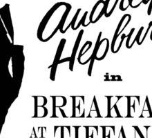 Breakfast at Tiffany's!  Sticker