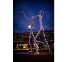 Dancing Aliens Photographic Print