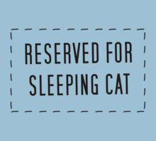 Reserved For Sleeping Cat by FlyNebula