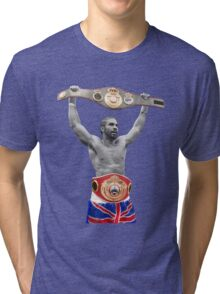 David Haye Boxing Heavyweight Britain  Tri-blend T-Shirt