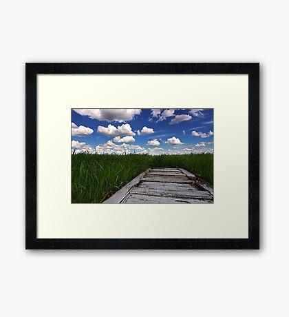 Prairie Portal Framed Print