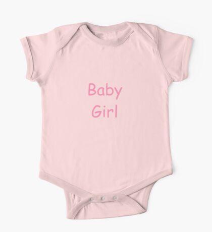 Baby Girl One Piece - Short Sleeve