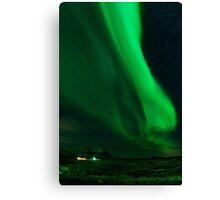 Iceland Northern Lights Canvas Print