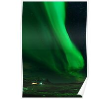 Iceland Northern Lights Poster