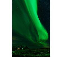 Iceland Northern Lights Photographic Print