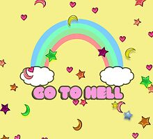 Go to hell by skyekathryn