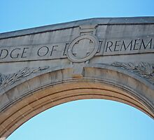 Memorial Arch by kalaryder