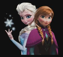 Anna and Elsa Kids Clothes