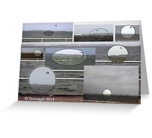 The man on the bay.  Greeting Card