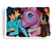 You're Giggling is Illogical! Canvas Print