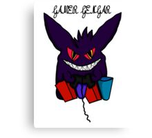 Gamer Gengar Official style 2 Canvas Print