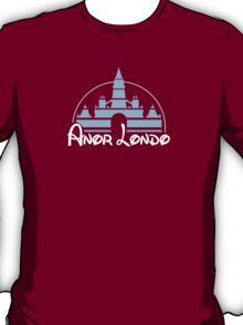 Anor Londo: The Happiest Place on Earth T-Shirt