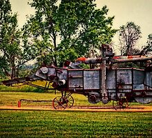 Threshing Machine by Dorothy  Pinder