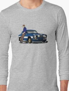 Paul Walker interpretation art - Fast Furious 7 Long Sleeve T-Shirt