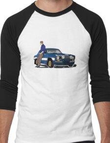 Paul Walker interpretation art - Fast Furious 7 Men's Baseball ¾ T-Shirt