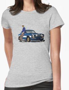 Paul Walker interpretation art - Fast Furious 7 Womens Fitted T-Shirt