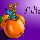Orange Fairy Adia by treasured-gift