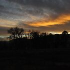 January sunset.....Colorado Springs by dfrahm
