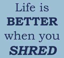 Shred by yyip