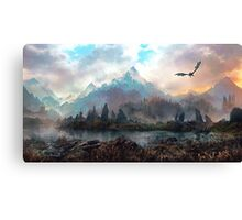 Dragon Mountain Canvas Print