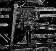 Train Wheel by Jeffrey  Sinnock