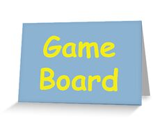 Game Board - The IT Crowd Greeting Card