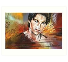 Dylan Sprayberry, featured in Artists Universe Art Print