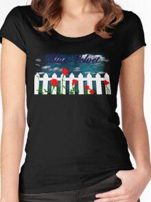 David Lynch's Blue Velvet Women's Fitted Scoop T-Shirt