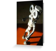 Mad Robot Greeting Card