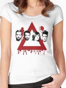 Bastille Stormer Band Tee Women's Fitted Scoop T-Shirt