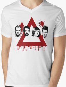 Bastille Stormer Band Tee Mens V-Neck T-Shirt