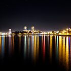 Nanaimo Waterfront at Night by rsangsterkelly