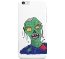 Zombie Drawing iPhone Case/Skin