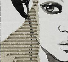 Portrait on Cardboard by RichesRoad