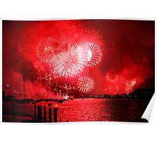 Fireworks Sydney Harbour 2013 Poster