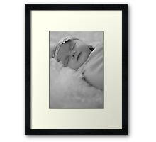 So special, so new, so lovable ............. Framed Print