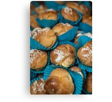 Blue cakes Canvas Print