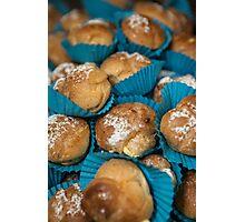 Blue cakes Photographic Print